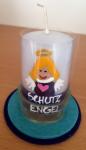 """Lichtergruß """"Schutzengel"""" - blau"""