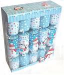 10 Stück Christmas Crackers Santa & Schneemann Kinder 30cm Weihnachtsdekoration