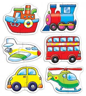 """Orchard Toys """"Puzzle Transport"""" Fahrzeuge"""