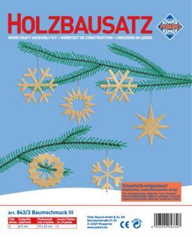 """Holzbausatz Baumschmuck"" (6 Motive)"