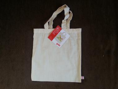 """""""Baumwollbeutel - Stofftasche zum Bemalen"""" von Goki, 21x 23 cm"""