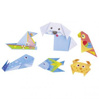 Origami Bastelset Peggy Diggledey (14 Blatt + 2x Sticker) von Goki