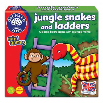 """""""Jungle Snakes & Ladders"""" (Orchard Toys minis) - Puzzle"""